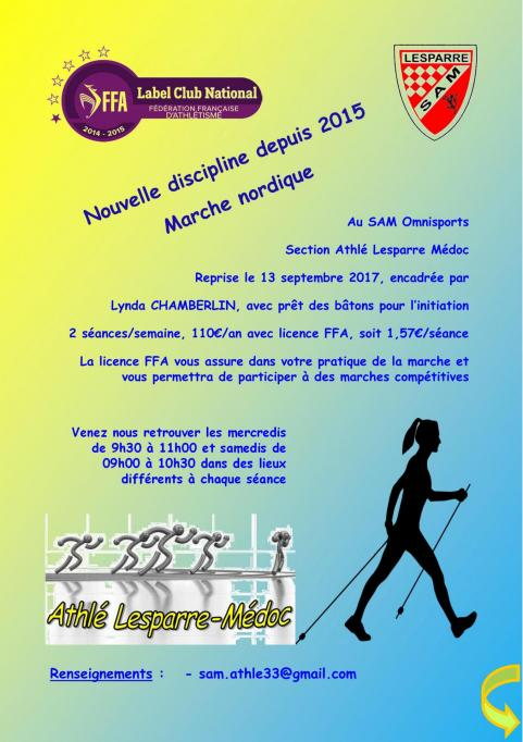 Flyer marche nordique 01